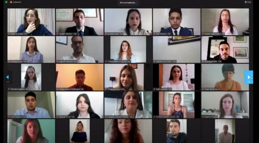 Se llevó a cabo el acto Virtual de Colación de Grado de Medicina