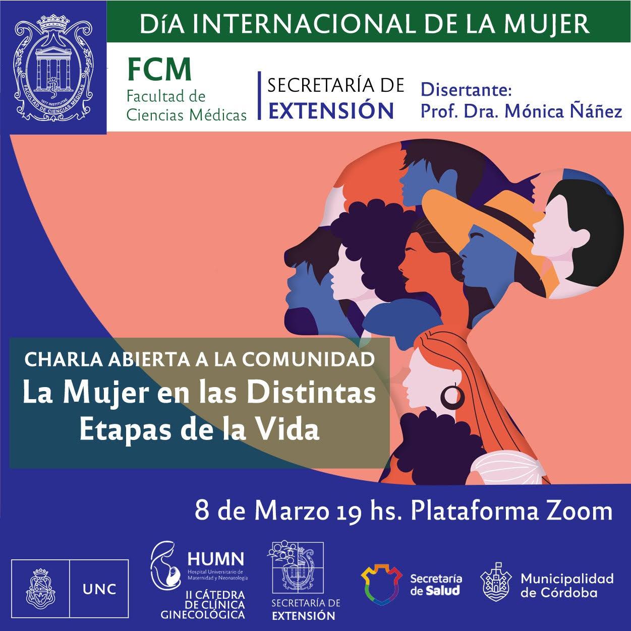 Charla abierta a la comunidad por el Día Internacional de la Mujer