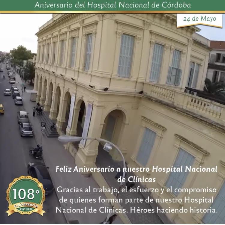 """24 de mayo: """"Aniversario Hospital Nacional de Clínicas"""""""