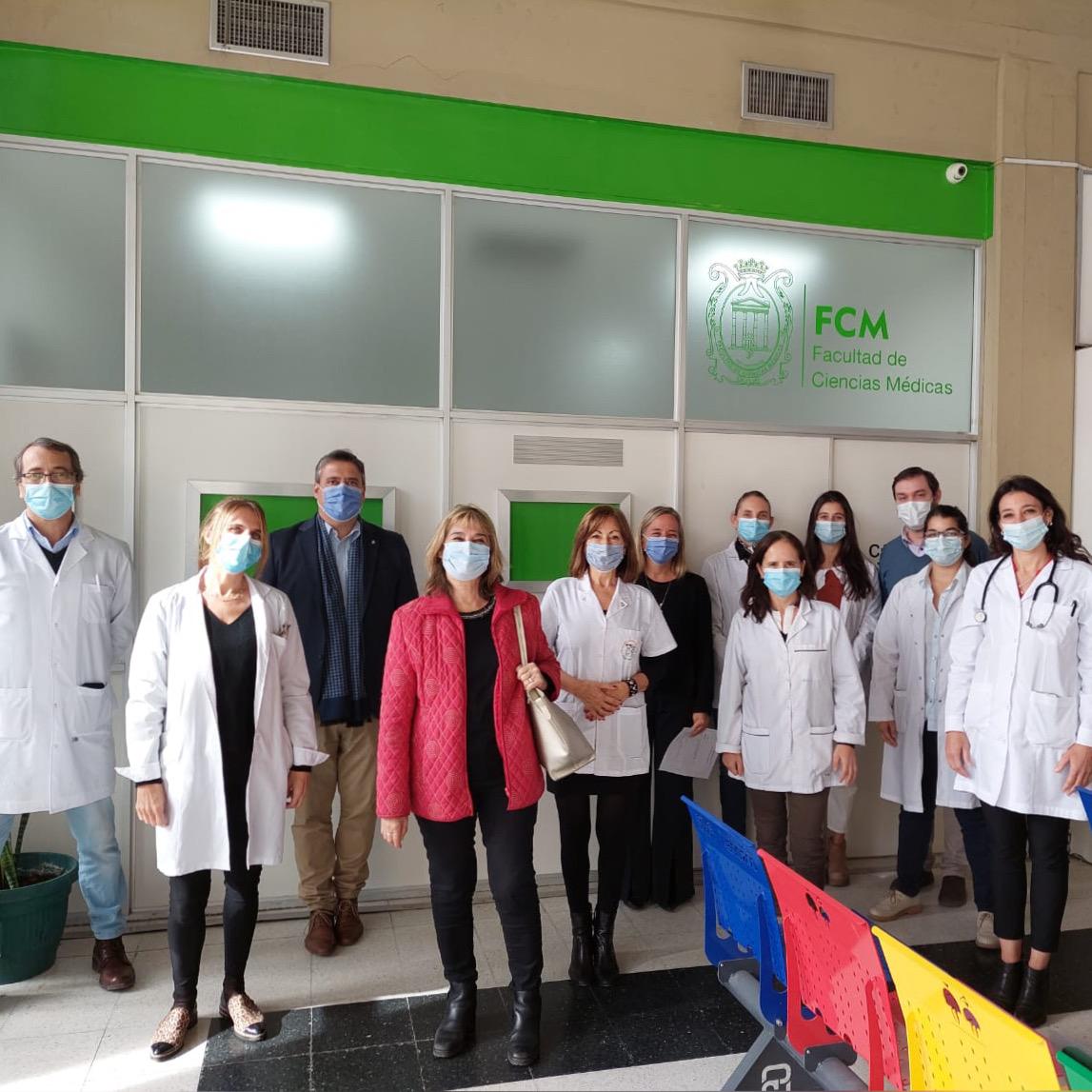 La cátedra de Pediatría vuelve a tener un espacio en el Hospital de Niños