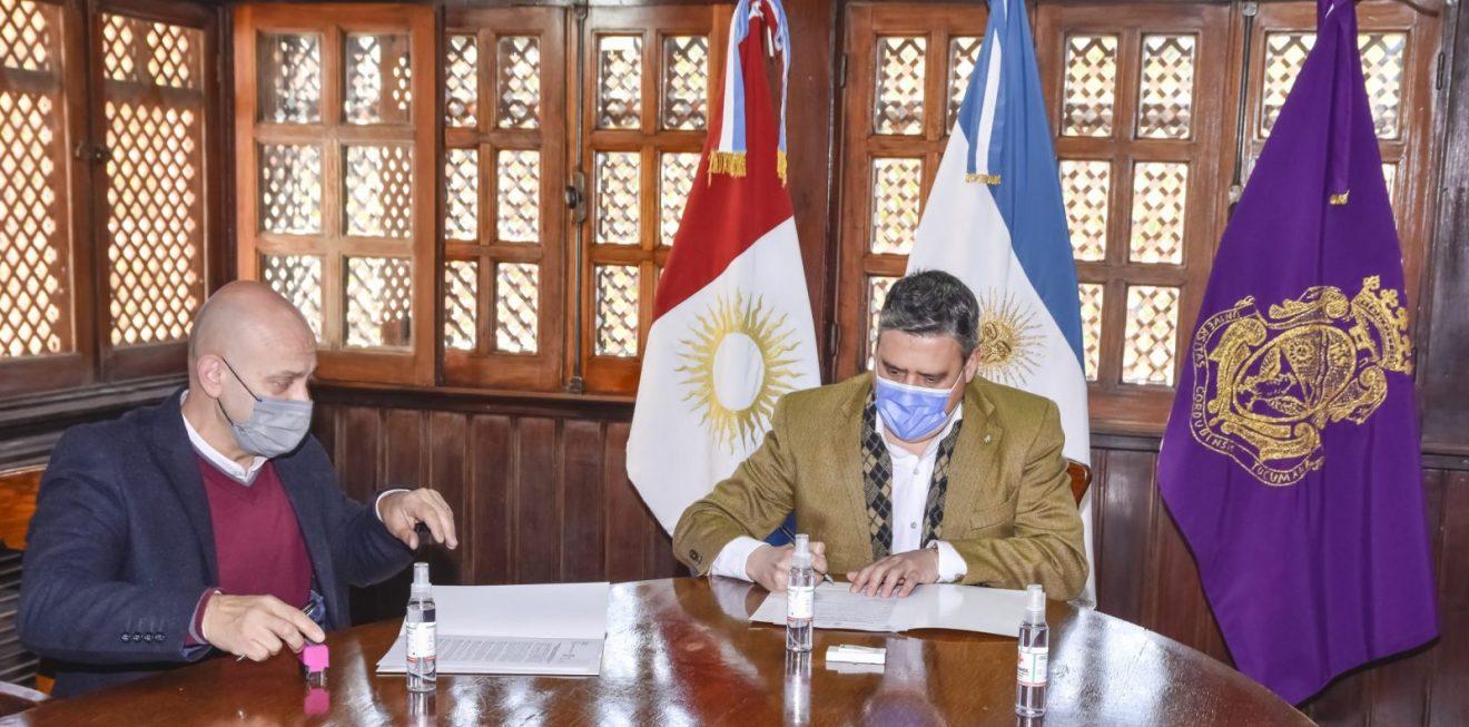La FCM firma convenio con la Municipalidad de Villa Carlos Paz