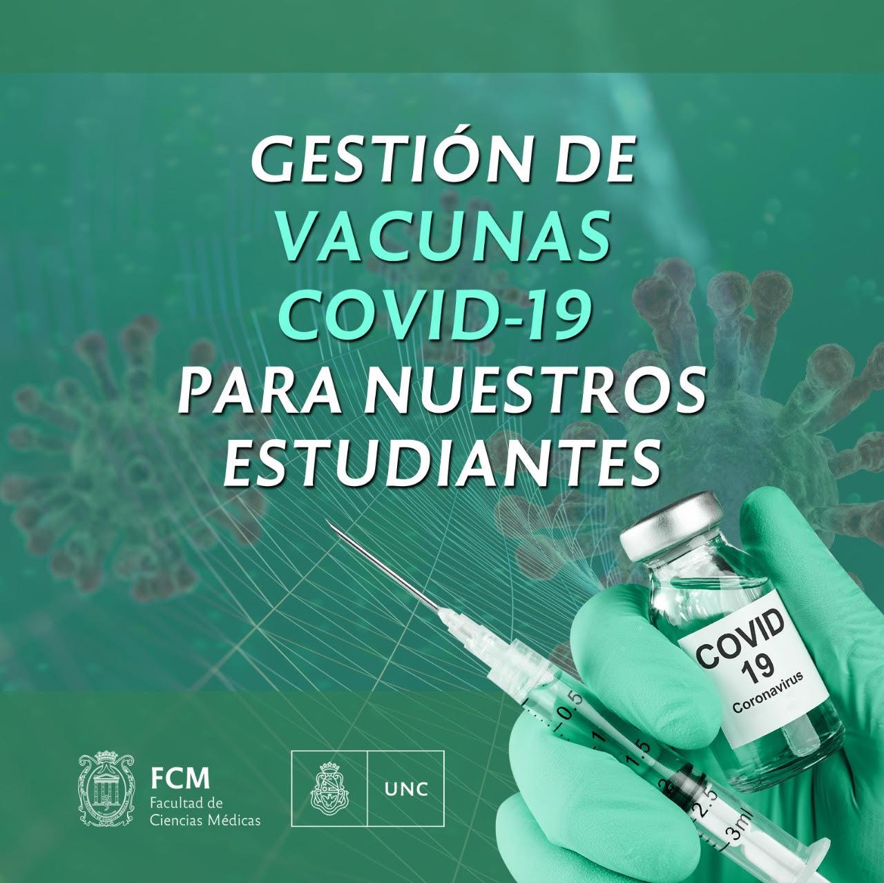 Gestión de vacunas Covid-19 para nuestros estudiantes