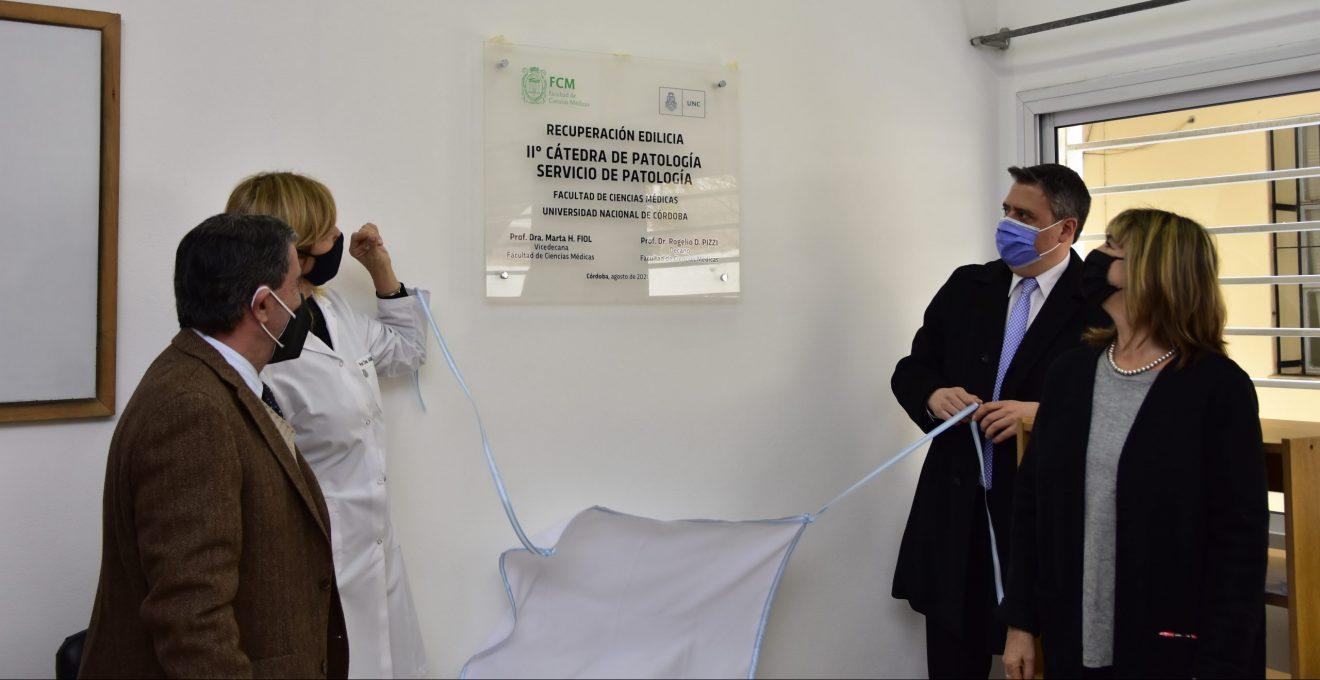 Recuperación Edilicia II Cátedra de Patología - Servicio de Patología