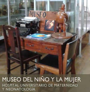 museo niño mujer