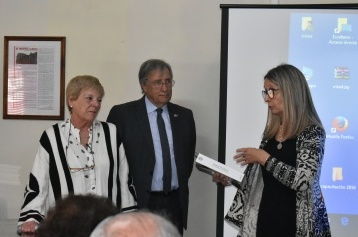 Dra. MArta Fiol de Cuneo, Dr. Raúl Abrile, Ab. María Inés Sheriff