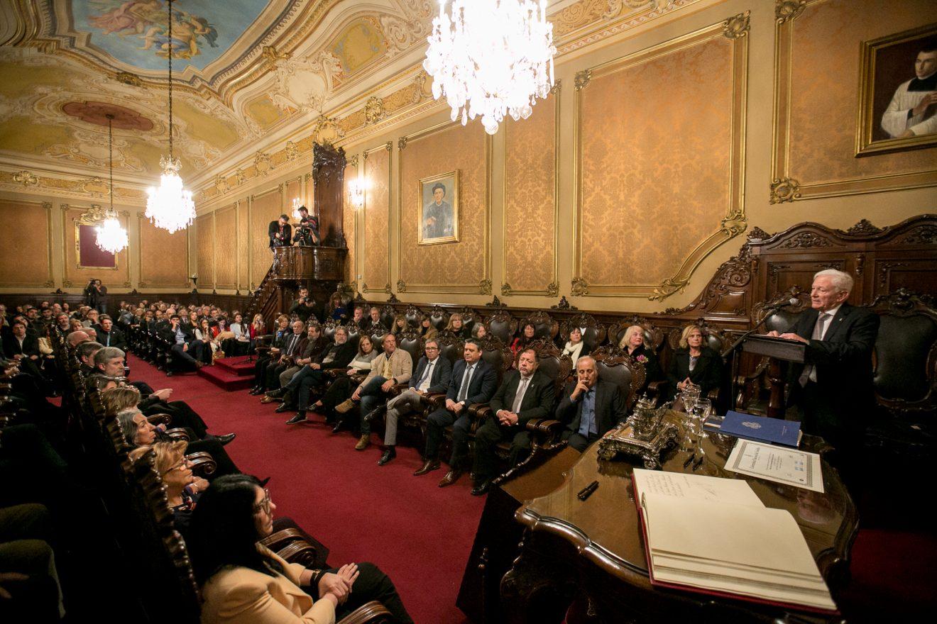Asumió Hugo Juri, el primer rector de la UNC elegido por voto directo