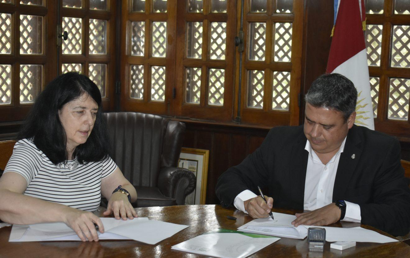 Se firmó un acuerdo de Colaboración entre las Facultades de Ciencias Médicas y Psicología