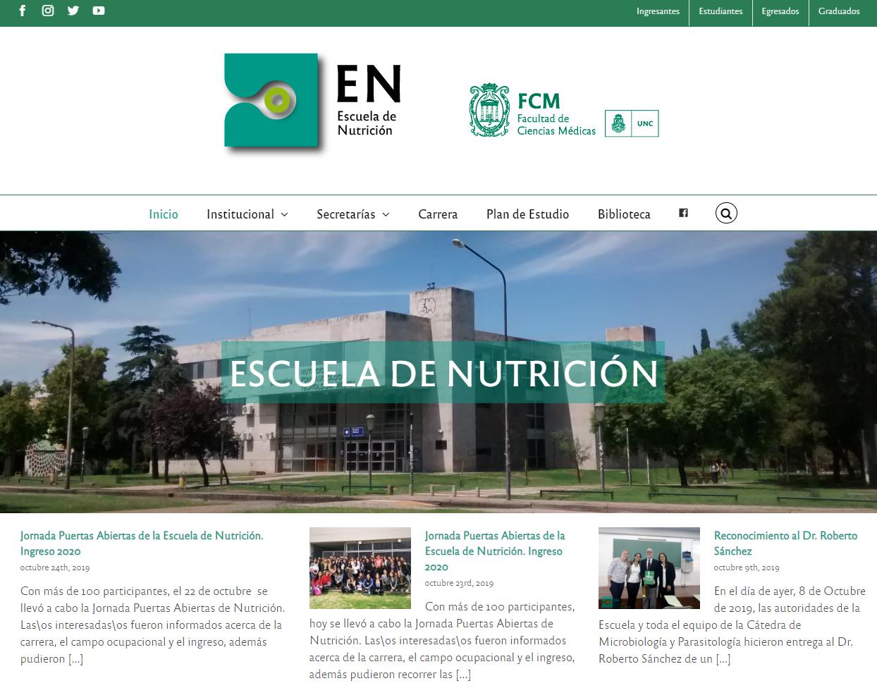 web nutricion