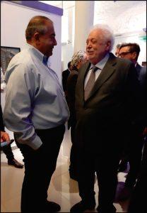Héctor Daer junto con Ginés González García