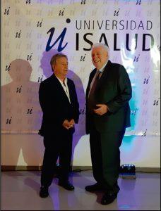 El Doctor Ginés González García junto con el Ex Presidente Eduardo Duhalde.