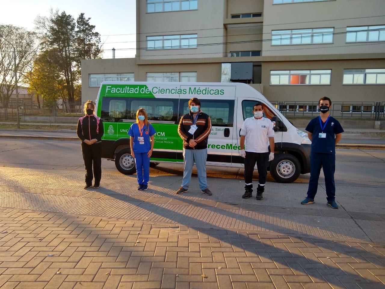 Nuestros voluntarios continúan trabajando para cuidarnos