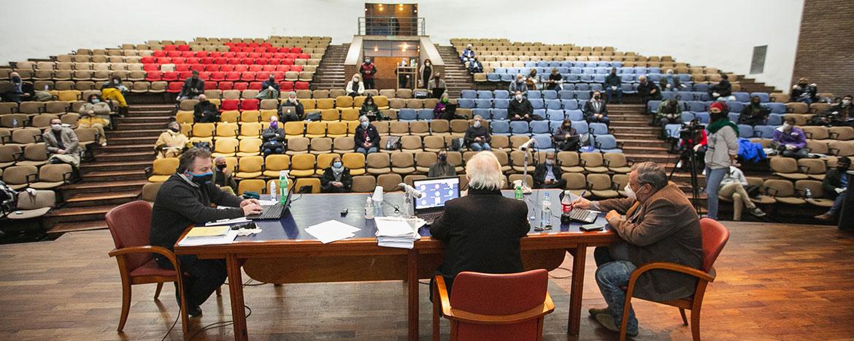 El Consejo Superior de la UNC volvió a las sesiones presenciales