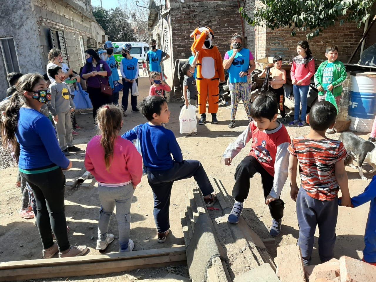 MENOS HAMBRE MÁS FUTUTO: Festejos del Día del Niño