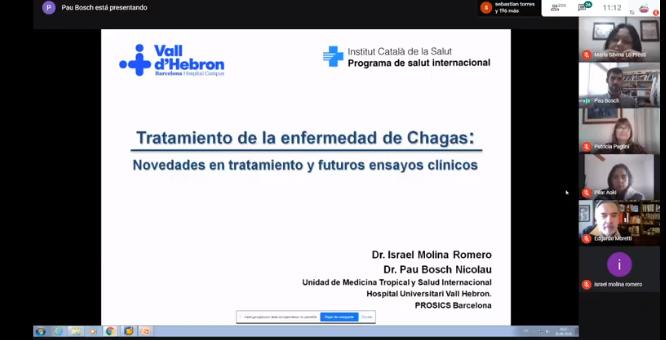Se llevó a cabo de manera virtual la VIII Conferencia Salvador Mazza