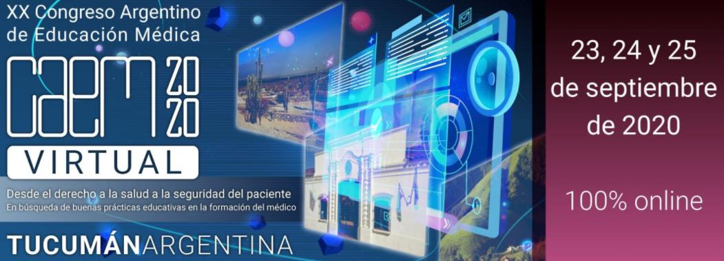 XX Congreso Argentino de Educación Médica 2020