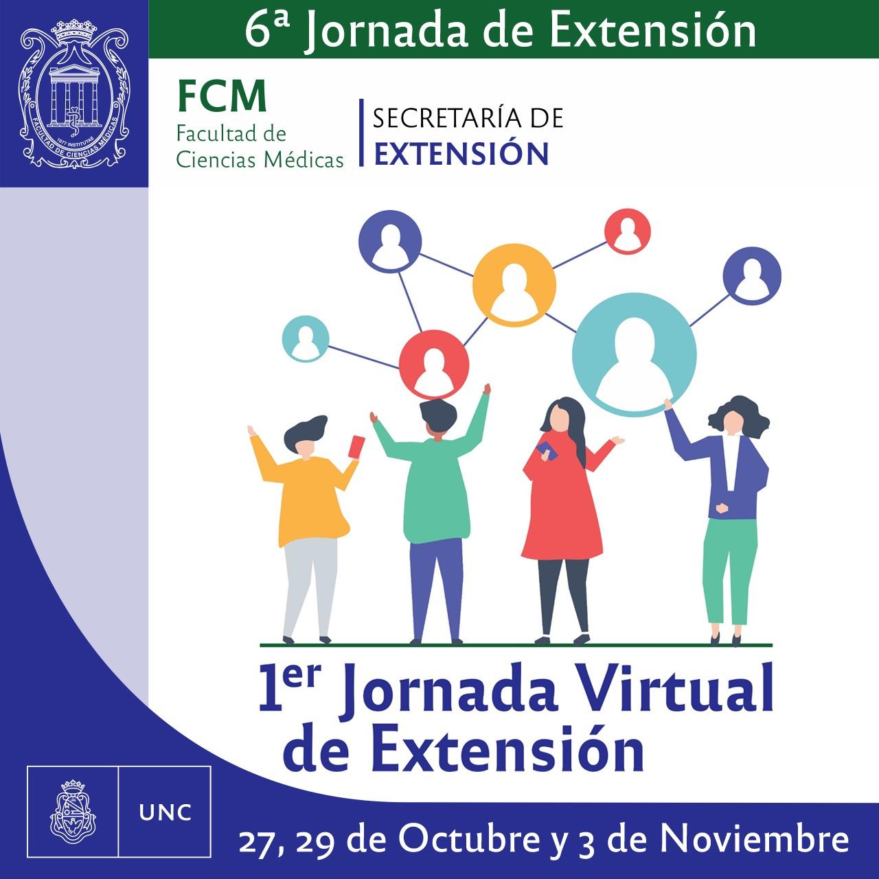 6ta Jornada de la Secretaría de Extensión de la FCM
